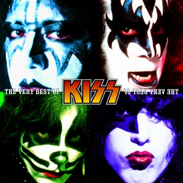 kiss band makeup